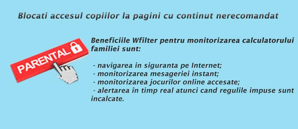 WFilter - control parental